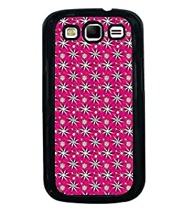 Fuson Premium 2D Back Case Cover Floral Pattern With Yellow Background Degined For Samsung Galaxy S3 Neo::Samsung Galaxy S3 Neo i9300i