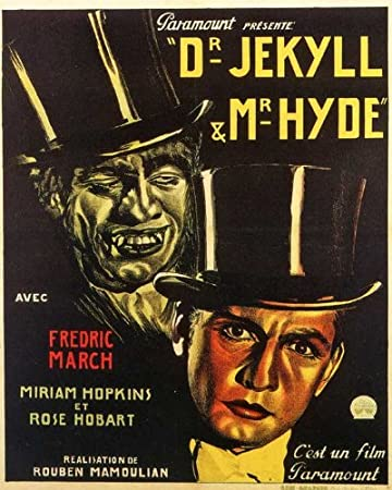 11 x 17 Dr. Jekyll and Mr. Hyde Movie Poster