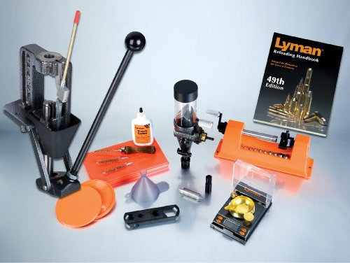 Lyman Reloading Press Crusher Expert Kit Deluxe with 1000Xp Scale