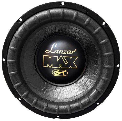 Lanzar Max10D Max 10-Inch 800 Watt Small Enclosure Dual 4 Ohm Subwoofer