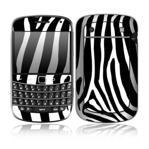 Zebra Print Design Decorative Skin Cover Decal Sticker for BlackBerry Bold Touch 9930 9900 Cell Phone