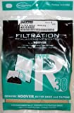 Hoover R30 Vacuum Bag 5 Pack and 2 Filters #40101002