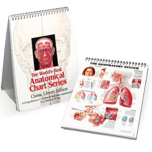 The World's Best Anatomical Chart Series: A Comprehensive Collection of 48 Classic Anatomical Charts in a Desk Size Version