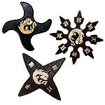 Ninja Stars - A Dozen Rubber Stars by Tiger Claw