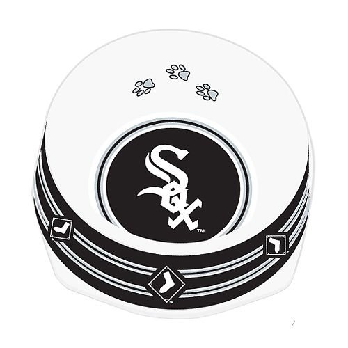 Sporty K9 Chicago White Sox Dog Bowl, Small