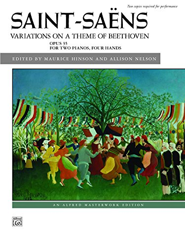 Variations on a Theme of Beethoven, Op. 35 (Alfred Masterwork Library)
