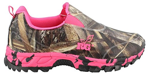 Women's Realtree Outfitters, Ms Viper Slip on Shoe CAMO 8 M
