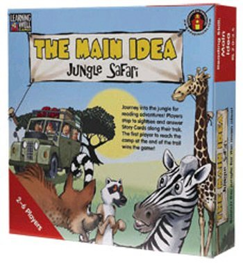 Edupress Lrn103 The Main Idea Jungle Safari Blue back-691268