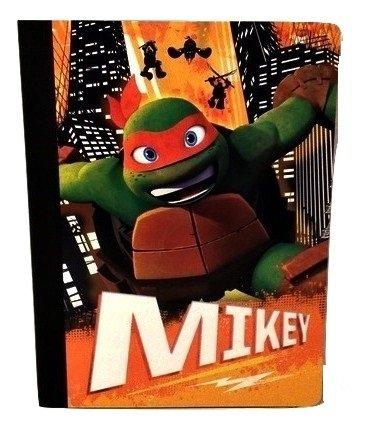 Teenage Mutant Ninja Turtle Boys Nickelodeon Leonardo Raphael Donatello Elementary Junior High Backpack Middle Composition Notebook B