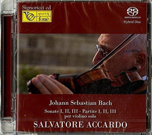 SACD : BACH / ACCARDO,SALVATORE - Johann Sebastian Bach: Sonate I-ii-iii (2 Discos)