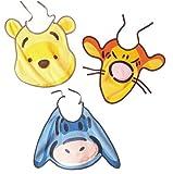 Babycalin Bavoir en Forme de T�te Winnie et ses Amis avec Pouet Pouet Fermeture Lacets Mod�le Al�atoire