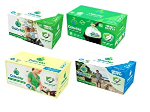 OdorNo Odor-Barrier Eco-Friendly Disposable Bags for Diapers, Pet Waste, Household Use from OdorNo