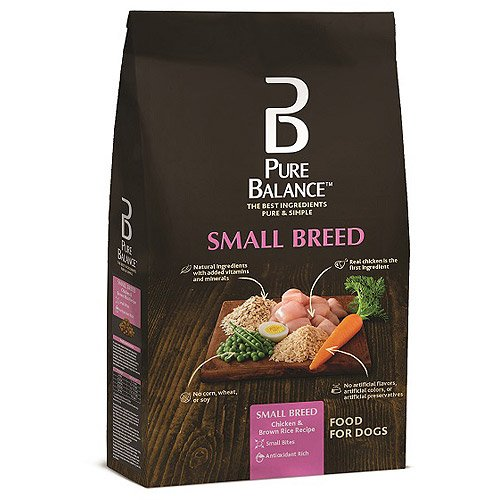 Pet Small Breed Dog Food, 7 Lbs, Chicken & Brown Rice, Designed, Antioxidant