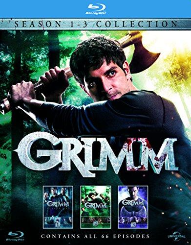 GRIMM Season 1 - 3 / グリム シーズン 1 - 3 [Blu-ray](inport)
