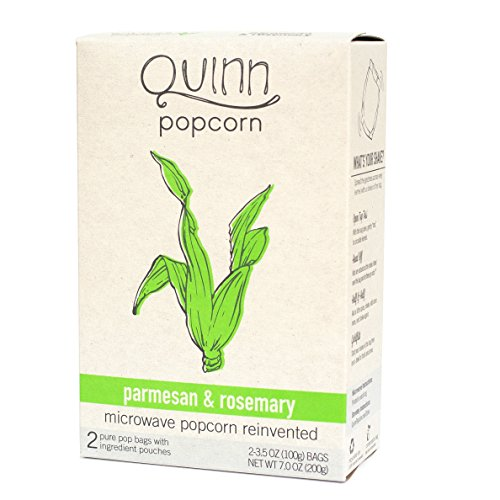 Quinn Foods Microwave Popcorn Parmesan & Rosemary -- 2 Ball