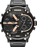 Diesel - DZ7312 - Montre Homme - Quartz Chronographe - Bracelet Acier Inoxydable Noir