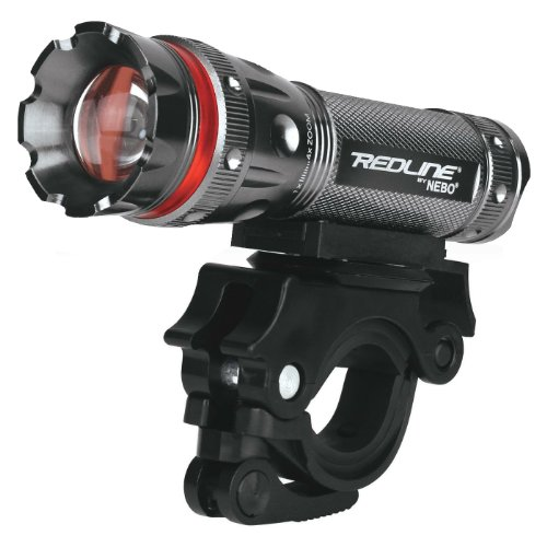 Nebo Redline Bikelight 220 Lumen Bright Light With A Swivel Bar Mount, Item No. 5624