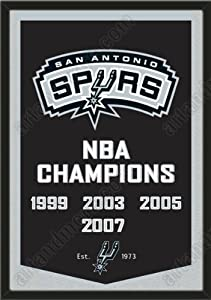 Dynasty Banner Of San Antonio Spurs-Framed Awesome & Beautiful-Must For A... by Art and More, Davenport, IA