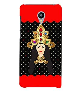 Saadhvi 3D Hard Polycarbonate Designer Back Case Cover for Meizu M3 Note