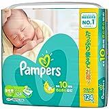 パンパース さらさらケア テープ ウルトラジャンボ新生児 124枚