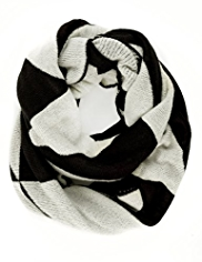 M&S Collection Geometric Print Snood Scarf