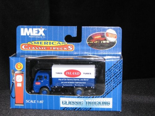 Imex HO Scale Delivery Truck Blue/White