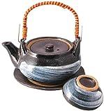 マルヨシ陶器 土瓶むしセット 刷毛目 M2138