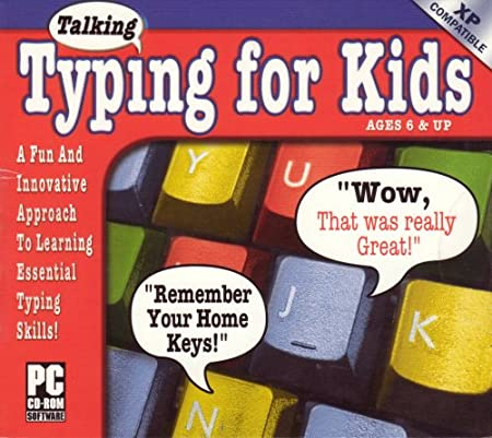 Talking Typing For Kids Ages 6 & up