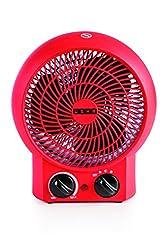 Usha FH 3620 2000-Watt Fan Heater (Red)
