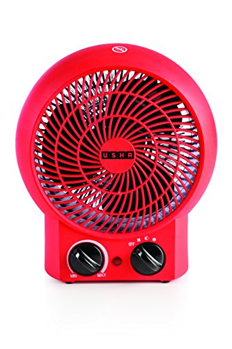 Usha FH 3620 2000-Watt Fan Heater (Red)