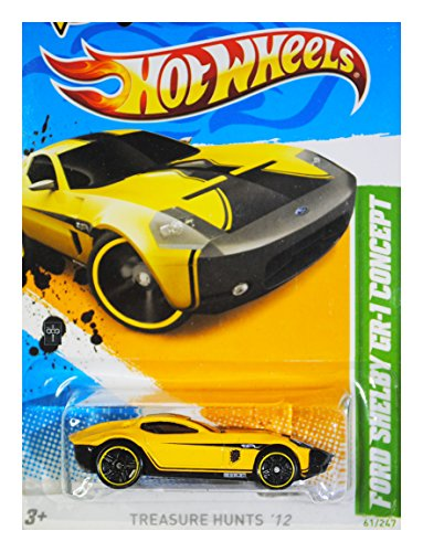 2012 Hot Wheels T-Hunt Ford Shelby GR-1 Concept Treasure Hunt '12 - 1