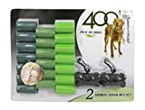 Wiggle & Pounce 400 Pick-Up Wast Bags - 2 Dispensers