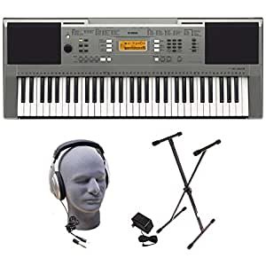Yamaha PSRE353 Portable Keyboard  with Headphones,