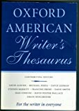 Oxford American Writers Thesaurus