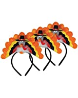 Turkey Headband Pkg/3