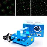 LED Mini Stage Light Laser Voice Control Projector Party Stage Bar Pub Club