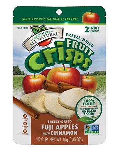 Chips de fruits entièrement naturels-frères,