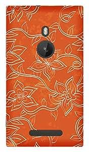 TrilMil Premium Design Back Cover Case For Nokia Lumia 925
