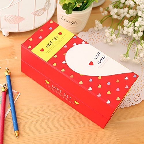 Zonman® Creative Four Floors Fun Joy Love Series Paper Stationery Pencil Case Pouch Gifts for Kids (2) - 1