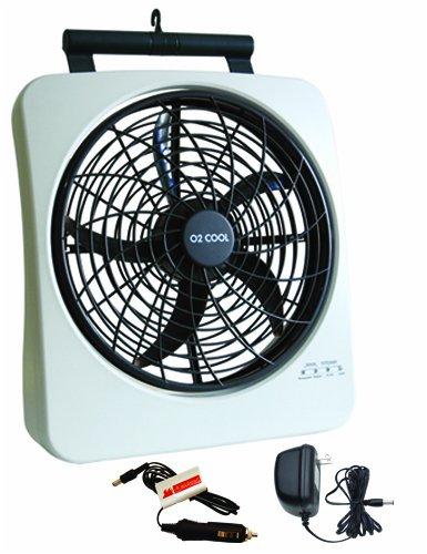 O2 Cool Fan : O cool quot rechargeable energy efficient fan