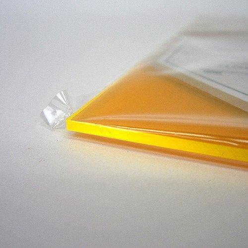 アクリル板 270×320×2mm 集光オレンジ