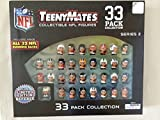 Party Animal Teenymates Collectible Series 2 NFL Figures (33 Pack)