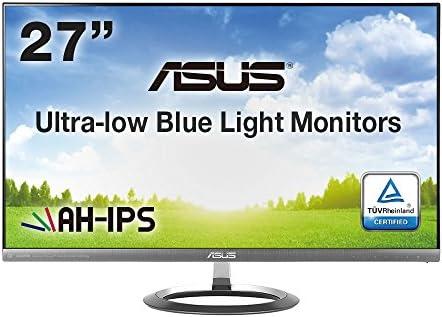 ASUS 27型WQHDディスプレイ ( AH-IPS / 広視野角178° / ブルーライト低減 / フリッカーフリー / sRGB / スリムベゼル / HDMI1.4×1,HDMI×2,Displayport×1 / スピーカー内蔵 / 3年保証 ) MX27AQ