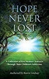 img - for Hope Never Lost: A Collection of Five Mothers' Journeys Through Their Children's Addiction book / textbook / text book