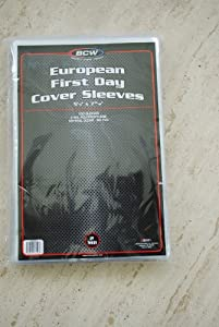 EUROPEAN FIRST DAY COVER PROTECTIVE SLEEVES x 200 SLEEVE pack