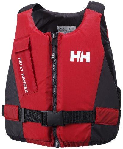 Helly Hansen Rider Vest Aiuto al Galleggiamento - Rosso (Red/Ebony ) - 70/90