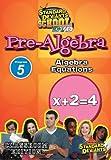 echange, troc Sds Pre-Algebra Module 5: Algebra Equations [Import USA Zone 1]