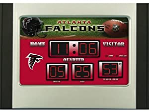 Buy Team Sports America NFL Scoreboard Desk Clock by Caseys