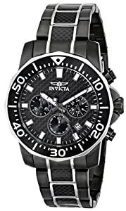 """Invicta Men's 17257SYB """"Pro Diver"""" Stainless Steel Two-Tone Casual Watch"""