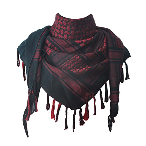 explore-land-100-cotton-military-shemagh-tactical-desert-keffiyeh-scarf-wrap-black-and-red